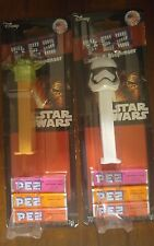 Unique, Collectable Star Wars PEZ Dispensers Set Of 2 Rare