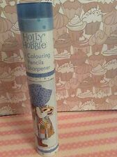 Holly Hobbie 12 Colouring Pencils & Sharpener Cylindrical Tin