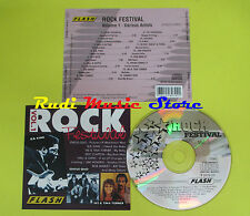 CD ROCK FESTIVAL VOL 1 compilation BB KING STATUS QUO TURNER (C4) no mc lp vhs
