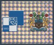 PANINI FOOTBALL LEAGUE 1996- #367-A-B-BRISTOL ROVERS / BURNLEY-TEAM BADGES-FOIL