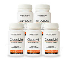 5 GluceMin Healthly Blood Sugar Levels 100% herbal,all natural and antioxidant !