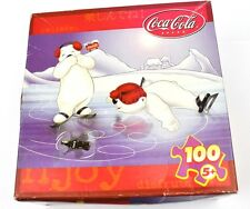 Coca Cola Coke Jigsaw Puzzle USA Motif Polar bears at Spin the bottle