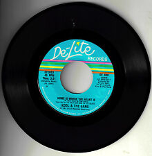 "KOOL & THE GANG!! - ""HOME IS WHERE THE HEART IS"" B/W ""TONIGHT"" DELITE ST 45 NM-!"
