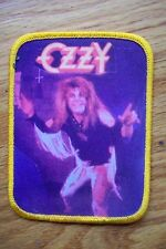 vintage ozzy osbourne patch motley crue anthrax exodus testament slayer carcass