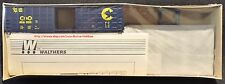 Walthers 932-4702  CHESSIE SYSTEM 50' Boxcar  C&O 486000 50' WAFFLE SIDE B&O NIB