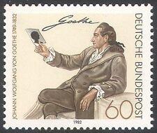 Alemania 1982 Goethe/escritores/autores/libros/Escritura/Literatura/personas 1v (n31324)
