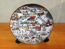 McDonalds Limited Edition Franklin Mint Collectors Plate - Golden Country