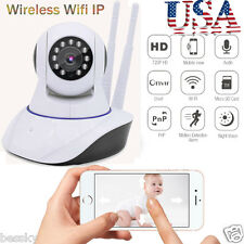 Wireless HD IP Pan Camera Home Security Two-way Audio WIFI Monitor Night Vision