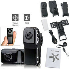 MD80 Mini DV Camera Hidden DVR Video Recorder Spy Webcam Sports Camcorder Black
