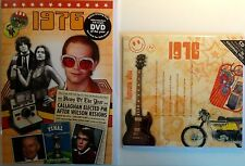 1976 40th Birthday Gifts Set - 1976 DVD , Pop CD and Card - CD Card Company.