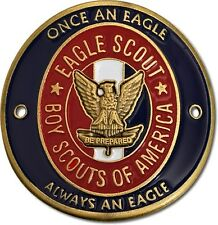 """NEW Boy Scout Eagle Scout Hiking Stick """"Once an Eagle, Always"""" Medallion. 79083"""