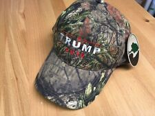TRUMP 2016  Republican  Camo Baseball Cap Hat Mossy Oak NEW