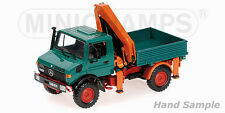 MINICHAMPS - MERCEDES BENZ UNIMOG 1300 L - ´KIPPER MIT LADEKRAN´ - GREEN 1/43