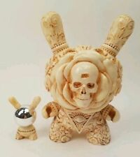 "KIDROBOT ARCANE DIVINATION THE CLAIRVOYANT 8"" & 3"" DUNNY SET BY J RYU"