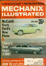1970 Mechanix Illustrated Magazine: Ford Pinto/Chevy Vega 2300/Install Doors