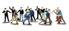 Dapol C002 Railway Workmen (set of 38) - Ready to Paint - OO Gauge