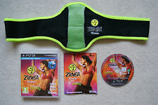 Zumba Fitness   PS3 Game + Belt 1st Class FREE UK POSTAGE