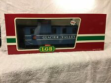 LGB 4071 G Scale Caboose Glacier Valley 905 - Queen Mary Series