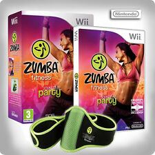Zumba Fitness with Fitness Belt ~ Wii (Boxed)