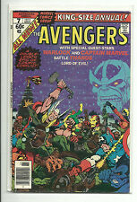 MARVEL (1963) AVENGERS ANNUAL #7 - FN THANOS WARLOCK APPEARANCES