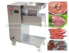 Meat Cutting Machine,Meat Cutter Meat Slicer,500KG Output,with 2 Sets Blade 110V
