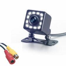 HD CCD Night Vision 420 TVL 12 LED Lights Car Rear View Backup Parking Camera