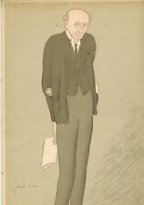 MAX BEERBOHM print of LORD CECIL  1931 The Spectator