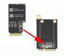 "Mini PCI-E WiFi Wireless Adapter Card Apple 21.5"" iMac A1418 A1419 with screws"