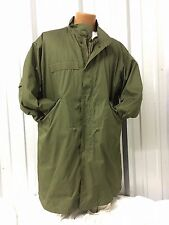 US MILITARY VINTAGE FISHTAIL PARKA EXTREME COLD WEATHER M51 M65 OD GREEN XL NOS