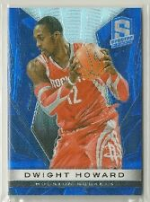 Dwight Howard 2013-14 Panini Spectra Prizm BLUE Refractor #'d 23/65 - ROCKETS