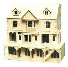 Casa De Muñeca York St Fila De 3 tiendas con 6 habitaciones Superior 1/12 Kit de escala