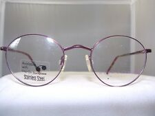 HUSH PUPPIES 401 BURGUNDY ROUND FRAME WITH SUNGLASS CLIP SIZE 44