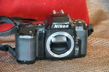 Vintage Nikon F 601 Quartz Date Body Only…  For parts only...