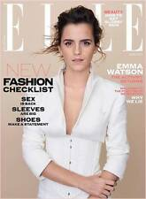 ELLE UK Magazine March 2017 - Emma Watson includes free Benefit Mascara