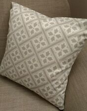 Laura Ashley Mr Jones Fabric Cushion Cover Reversible Dove Grey