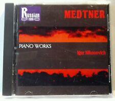 Medtner: Piano Works (CD, Jun-1995, Russian Disc) (cd5076)