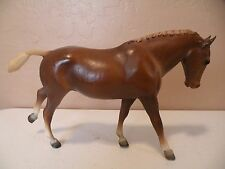 Breyer Traditional Model 1979-1981Cantering Welsh Pony Chestnut Number 105 Chess
