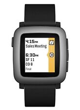 Pebble Time 501-00020 Smartwatch   Water Resistant Brand New Black