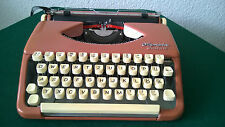 Olympia Splendid 33  Manual Typewriter Portable Case . Made in West Germany