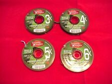 Scientific Angler Nylon Tippet with Built In Cutter FOUR SPOOLS GREAT NEW