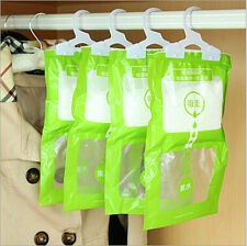 Interior Dehumidifier Desiccant Damp Storage Hanging Bags Wardrobe Rooms SHUS