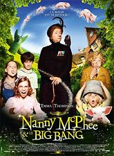 NANNY MC PHEE AND THE BIG BANG 4x6 ft Bus Shelter D/S Movie Poster Original 2010