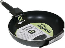 FRYING PAN ALUMINIUM NON STICK COATED COOKING SURFACE KITCHEN COOKING 24CM