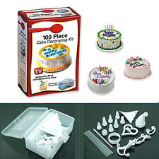 100 Piece DIY Cookies Muffin Cake Cupcake Icing Decorating Cooking Kit Tools HOT