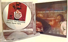 Very Limited Enter the Dragon 1973 Sound spots CD