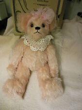 """Annette Funicello """"Jennifer"""" a pink  Mohair angel bear"""