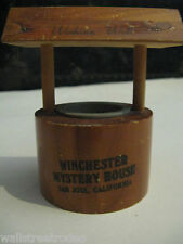 Winchester Mystery House wishing well vintage piggy bank Halloween original tag