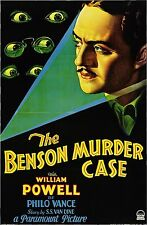 "William POWELL - ""Benson Murder Case"" - 1930 - Philo Vance - Hard-to-Find movie!"