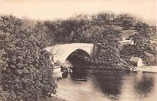 Scotland postcard bridge Brig O'Balgownie Aberdeen