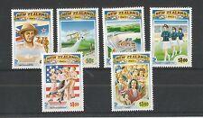 Nueva Zelanda 1993 Nueva Zelanda en la década de 1940 SG, 1771-1776 u/mm nh Lote 2413A